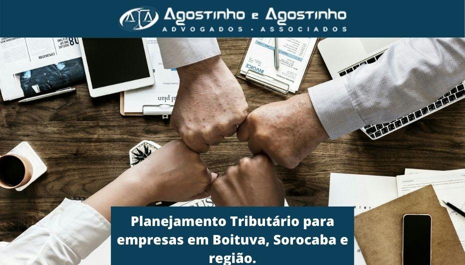 Planejamento Tributário para empresas em Boituva Sorocaba e região